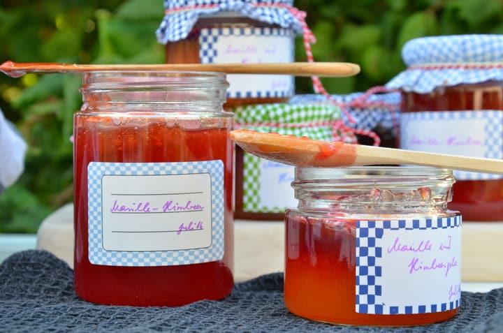Marillen-Himbeer-Marmelade