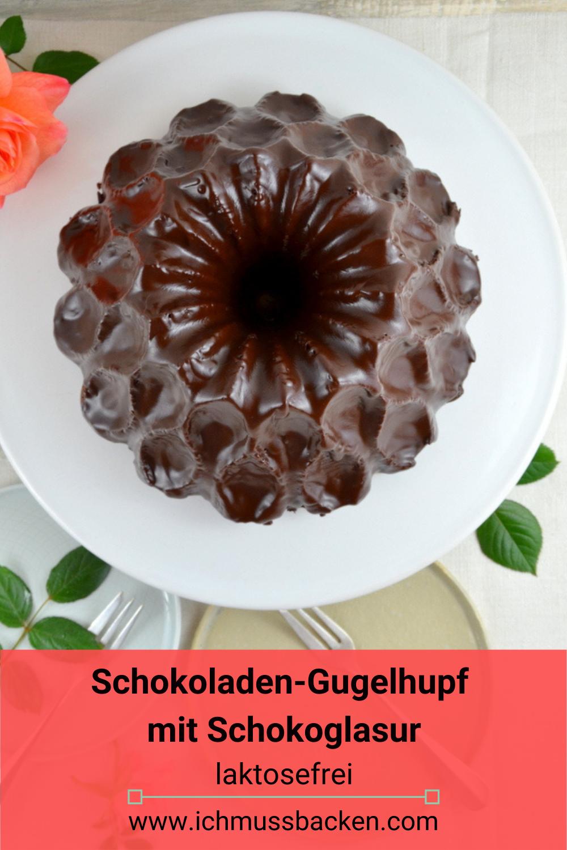 Schokoladengugelhupf mit Schokoglasur