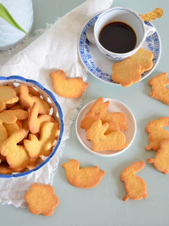 Kekse aus Reismehl und Maismehl