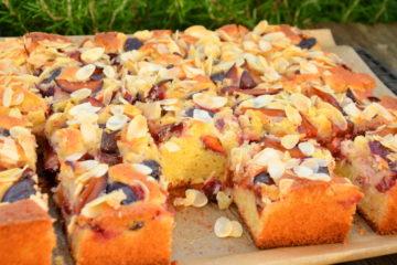 Zwetschgen-Marzipan-Kuchen