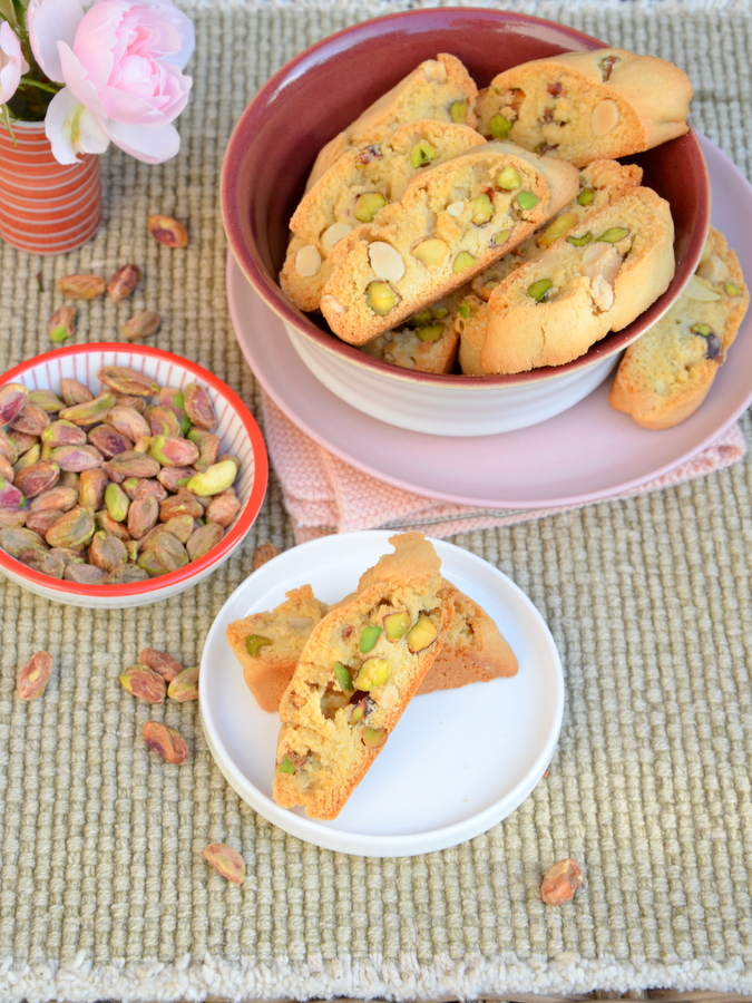 Mandel-Pistazien-Biscotti